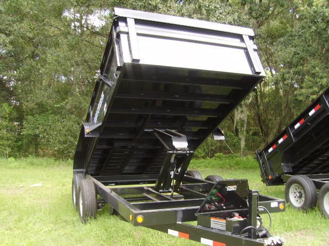 7X14 Load Trail Trailers Dump [14K GVWR] Trailer