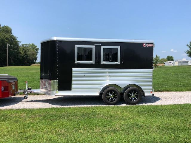 2018 Kiefer Manufacturing 2 Horse Genesis Horse Trailer