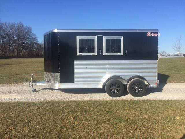 2018 Kiefer Manufacturing 2 Horse Genesis Horse Trailer