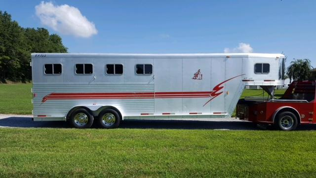 2000 Exiss Trailers Event 4 Horse Trailer