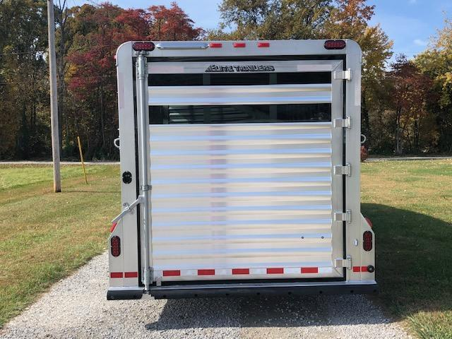 2019 Elite Trailers 4 Horse Stock Combo Livestock Trailer