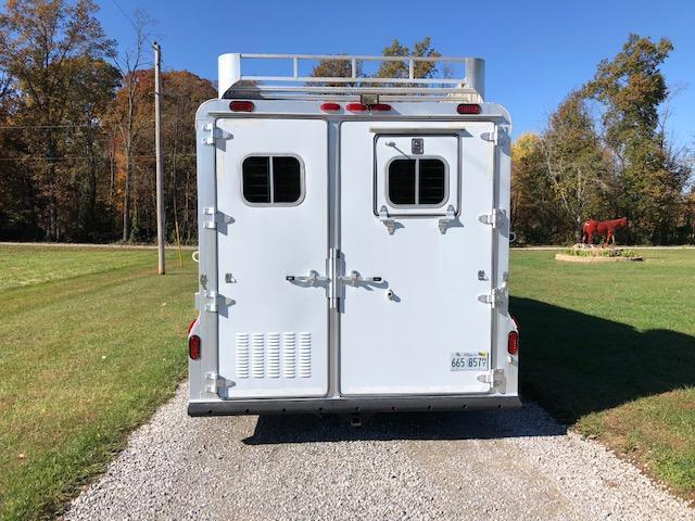 2000 4-Star Trailers Living Quarters Horse Trailer