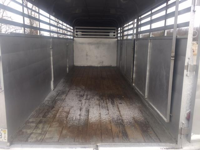 2004 Chaparral Trailers Steel Livestock Trailer