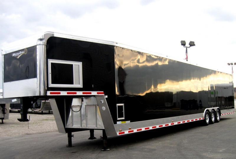 <b>Dragster Pkg. Due Out Soon</b> 2020 48' Millennium Enclosed Gooseneck Race/Car Trailer