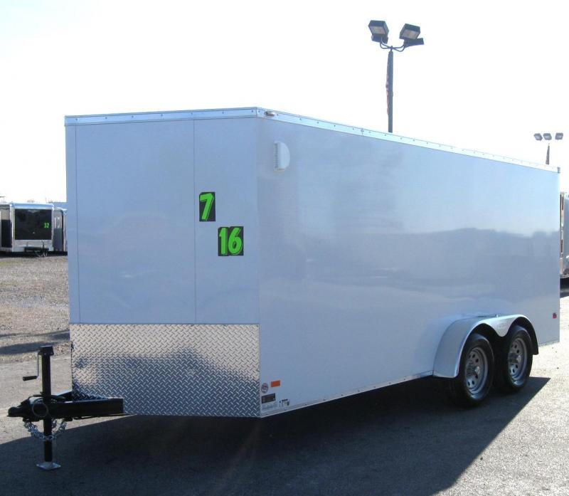 7'x16' Scout Enclosed Cargo Trailer w/Plus Pkg/ Torsion Axles PLUS FREE OPTIONS in Ashburn, VA