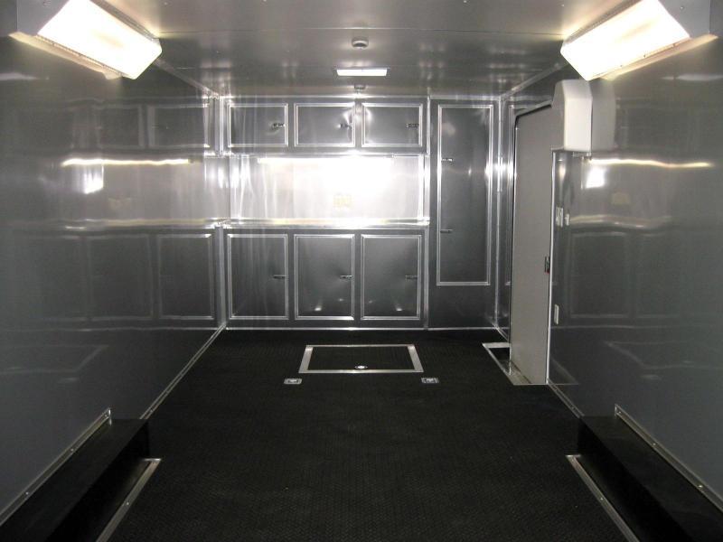 26' Millennium Enclosed Race Car Trailer w/Front Generator Box LOADED
