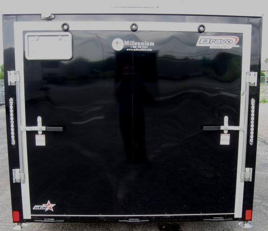 7'x16' Star Low Rider Enclosed Motorcycle Trailer