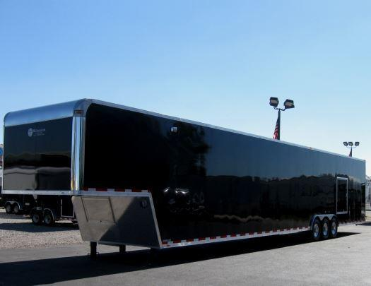 Custom 53' Millennium Enclosed Gooseneck Trailer w/Ramp Overs in Ashburn, VA