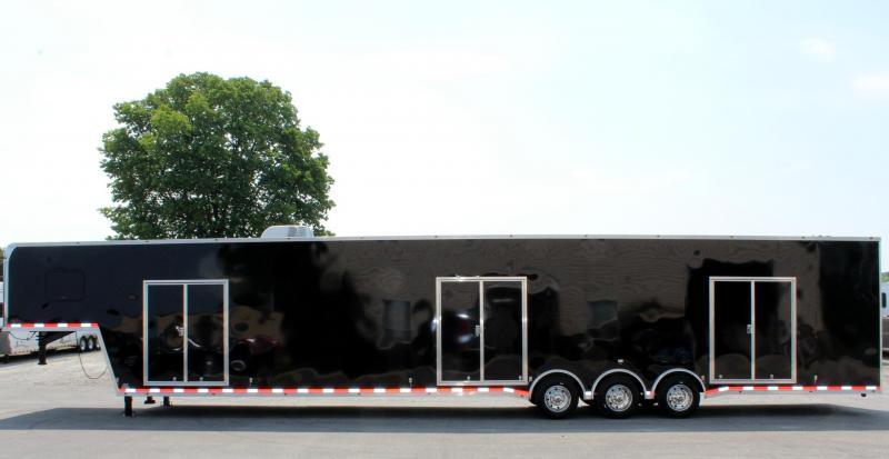 <b>Multi-Car Transport Dream Trailer</b> 2020 53' Millennium Platinum Car with all the Extras!