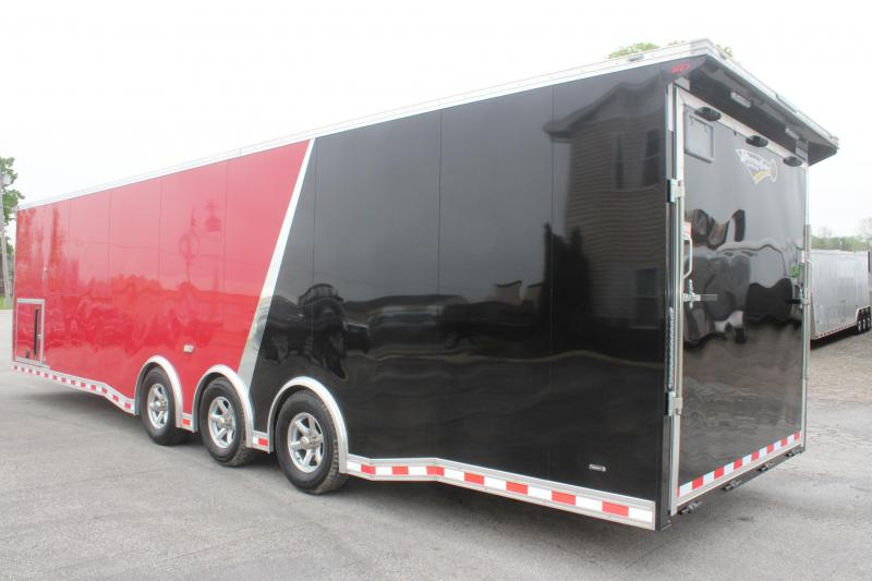 <b>Just Arrived</b> 2019 32' Millennium Extreme 2-Tone w/Black Cabinets/ Rear Wing & MORE!