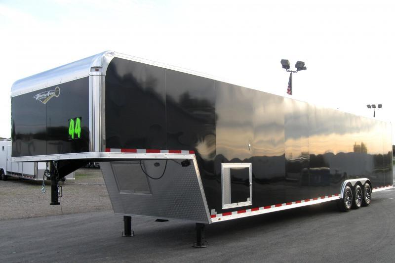 2019 44' Millennium Platinum Enclosed Gooseneck Trailer Perfect Price/Perfect Options
