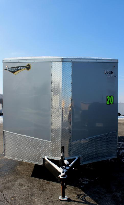 <b>PRE-OWNED</b> 2017 20' Look Element Enclosed Cargo Trailer