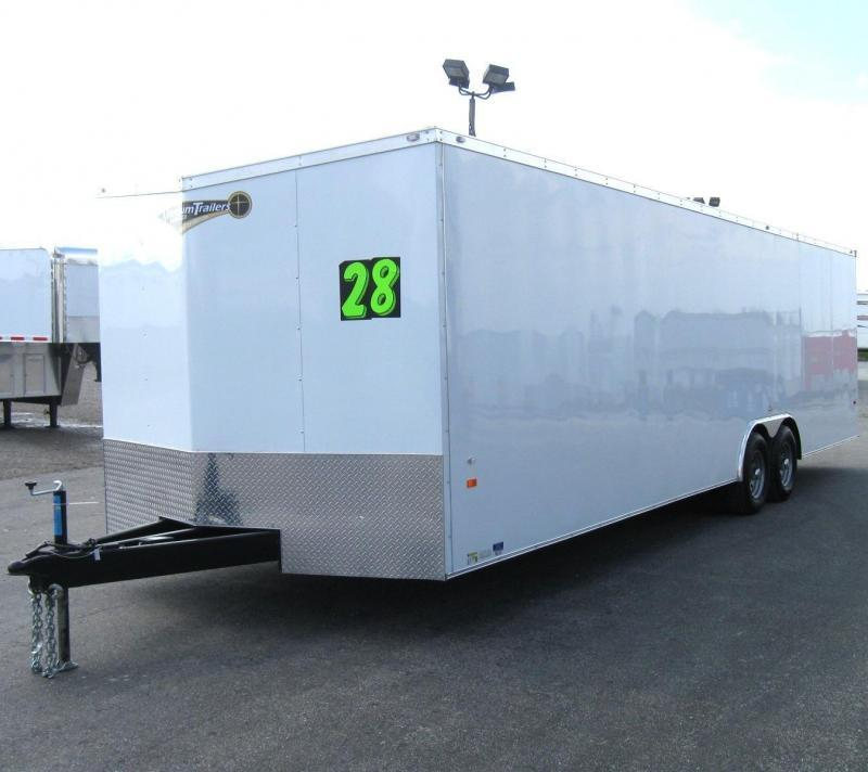2019 28' Millennium Hornet Enclosed Trailer Screwless Exterior SAVE $1100  in Ashburn, VA