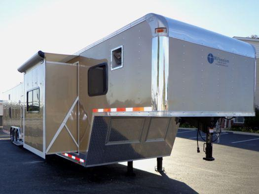 48' Custom Bunk House Living Quarters Millennium Trailer