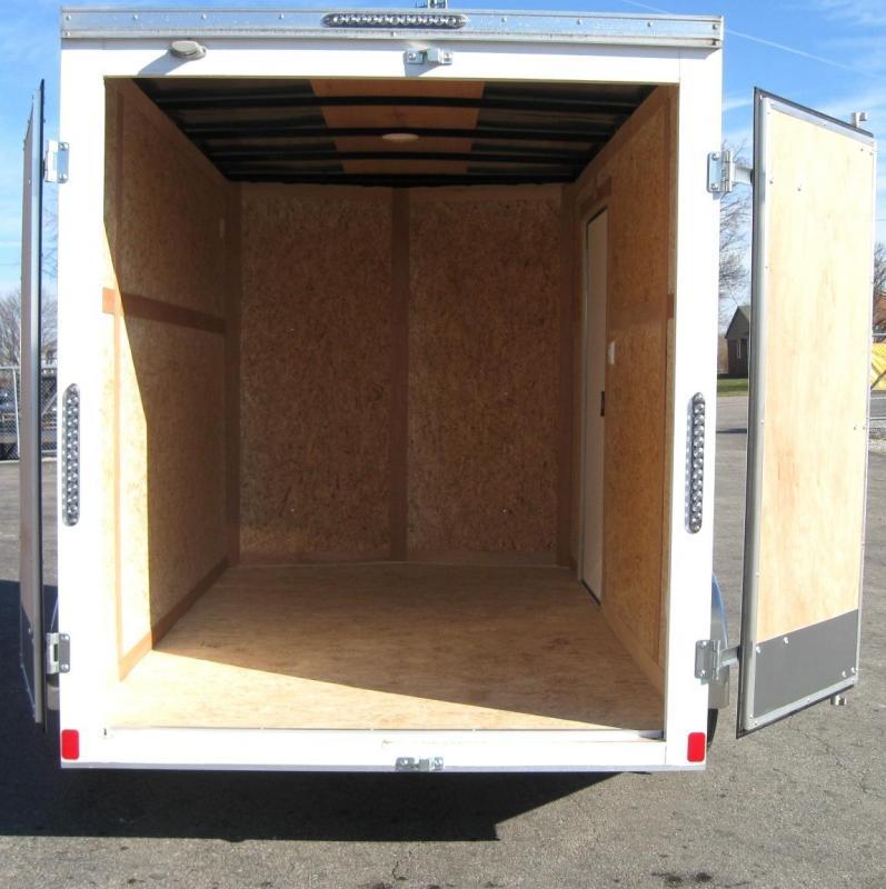 6'x10' Scout Enclosed Cargo Trailer w/Cargo Doors