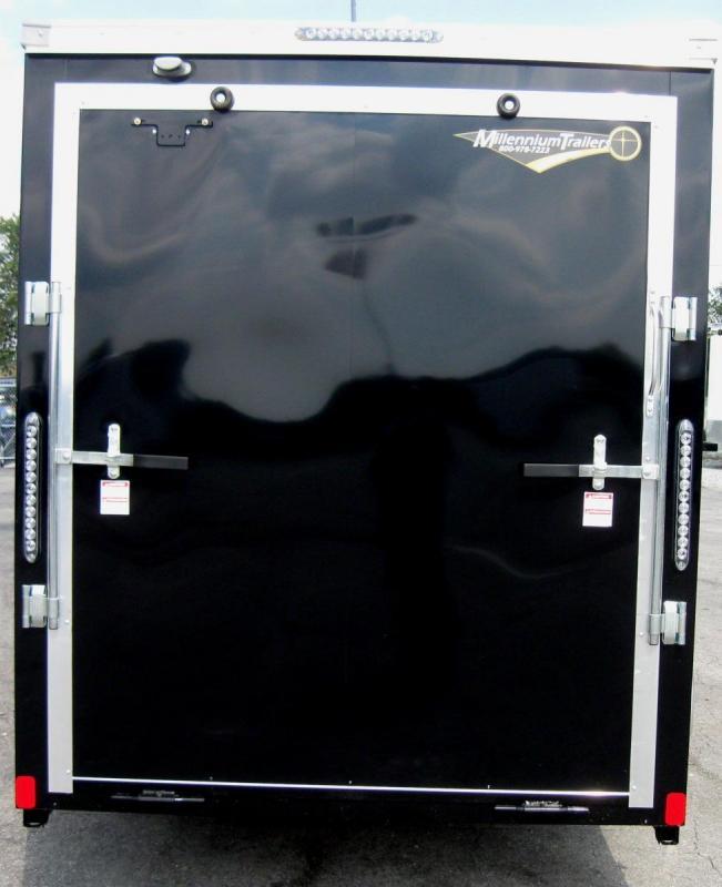 "6'x12' Scout Cargo Trailer Plus Pkg & Free Upgrades 6"" Extra High"