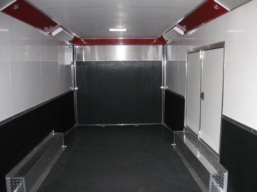 2020 Two-Tone 28' Millennium Auto Master Race/Car Trailer