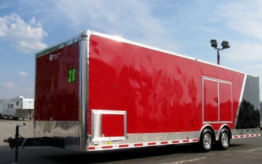 2020 Two-Tone 28' Millennium Auto Master Race/Car Trailer in Ashburn, VA