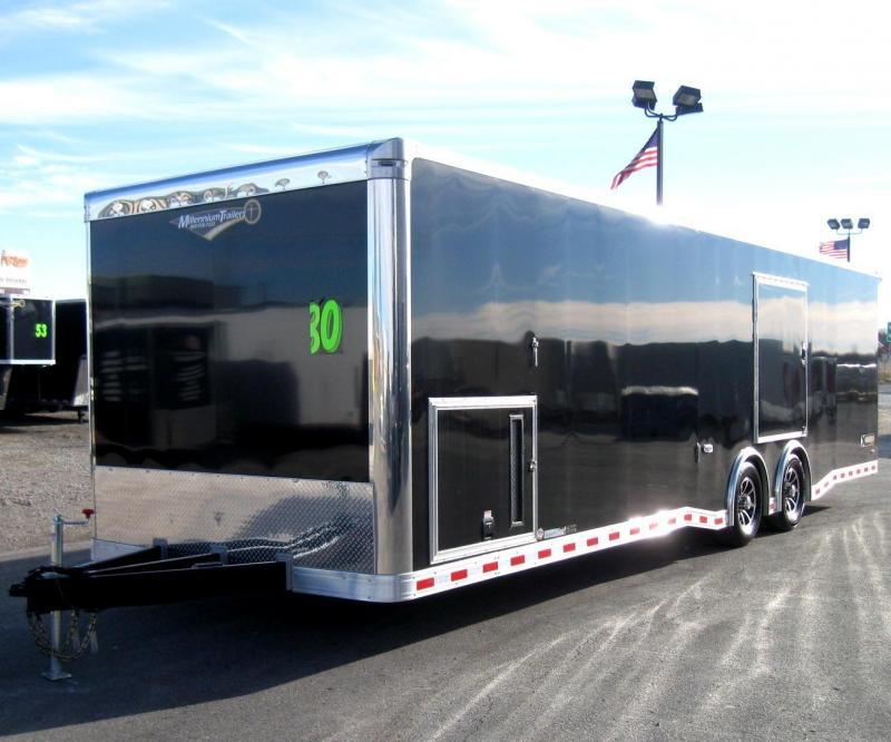 2018 30' NEW Millennium Extreme Race Trailer Ready