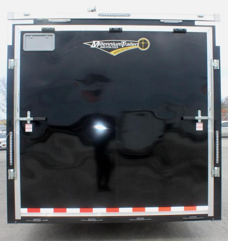 <b>Internet Special  Reduced to $17552 Save $2446 off MSRP</b> 2019 24' Millennium Star Car Trailer LOADED
