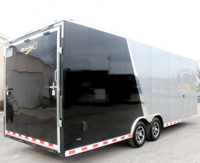 <b>Factory Rebate Sale Reduced to $17552 Save $2446 off MSRP</b> 2019 24' Millennium Star Car Trailer LOADED
