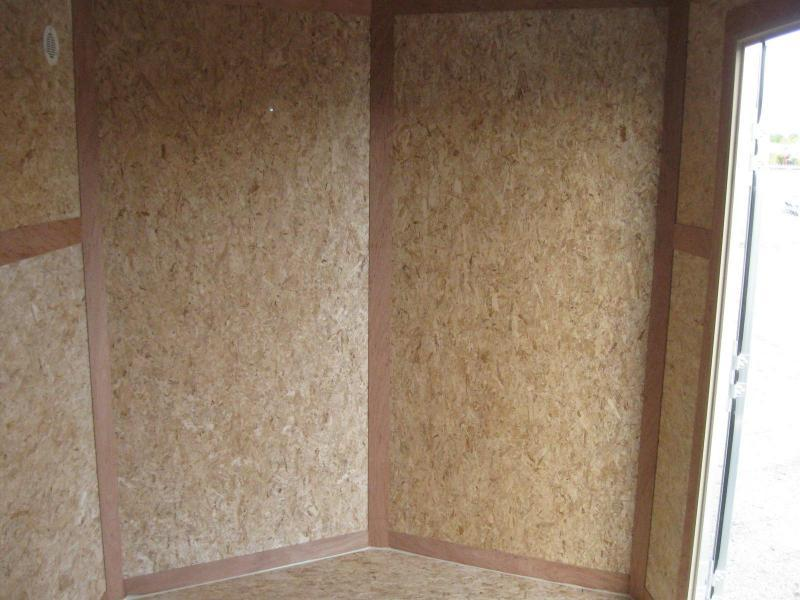 "6'x10' Scout Enclosed Cargo Ramp Door with Plus Pkg. &  Free Options & 6"" Extra High"