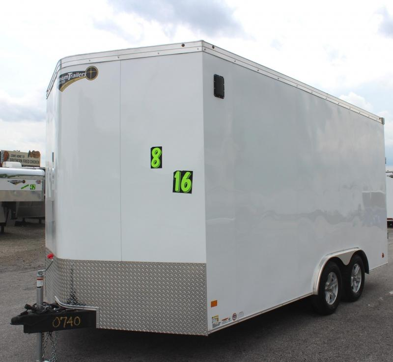 <b>Sale Pending</b>2019 8.5' x 16' Haulmark Transport V Enclosed Cargo Trailer 12