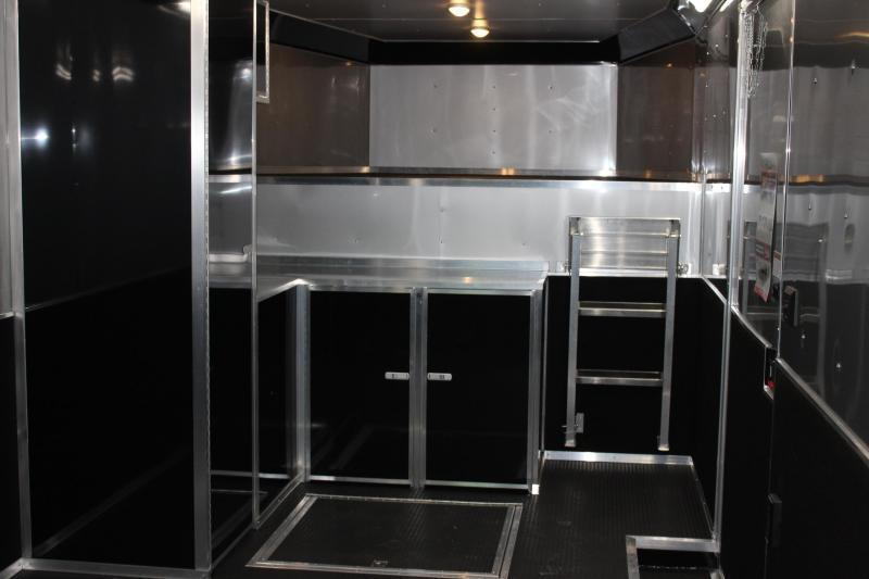 <b>Now Available</b> 2020 40' Millennium Extreme Gooseneck Enclosed Trailer w/Tapered Nose & Loaded Out!
