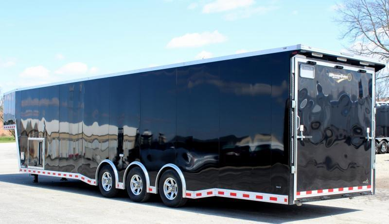 2020 40' Millennium Extreme Gooseneck Enclosed Trailer w/Tapered Nose Loaded Out!