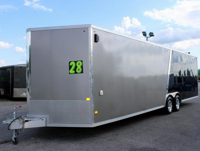 <b>Pre-Owned All Aluminum</b> 2016 28' Stealth Aluminum Car / Racing Trailer