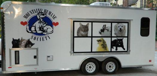 Custom Pet Adoption Trailer in Ashburn, VA