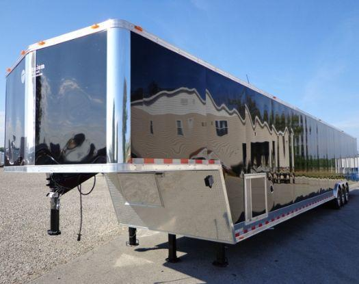 53' Millennium Custom Enclosed Gooseneck Trailer in Ashburn, VA