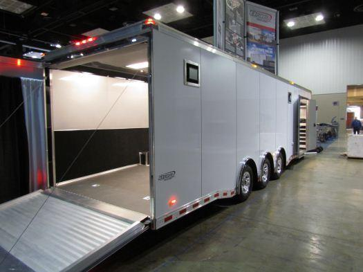 2017 Custom 32' Icon Enclosed Race Car Trailer