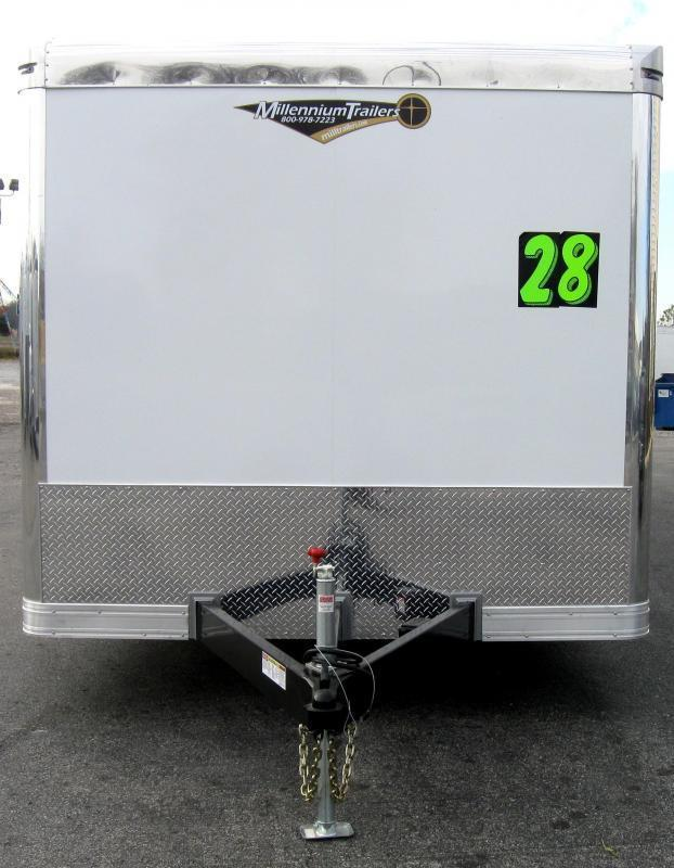 <b>Now Available</b> 2019 28' NEW Millennium Extreme 6K Spread Axles/ Black Cabinets
