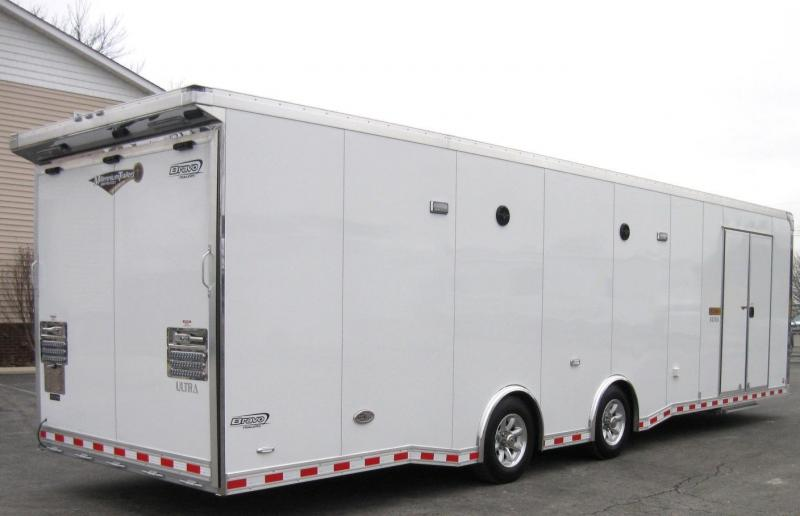 2019 32' Icon Enclosed Car Trailer LOADED
