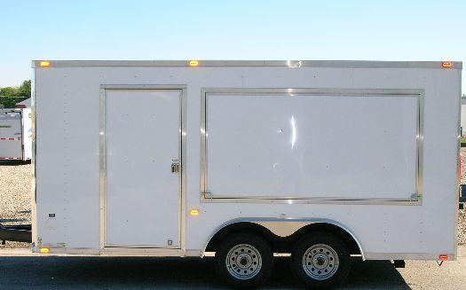 Millennium Custom Enclosed Vending Trailer in Ashburn, VA