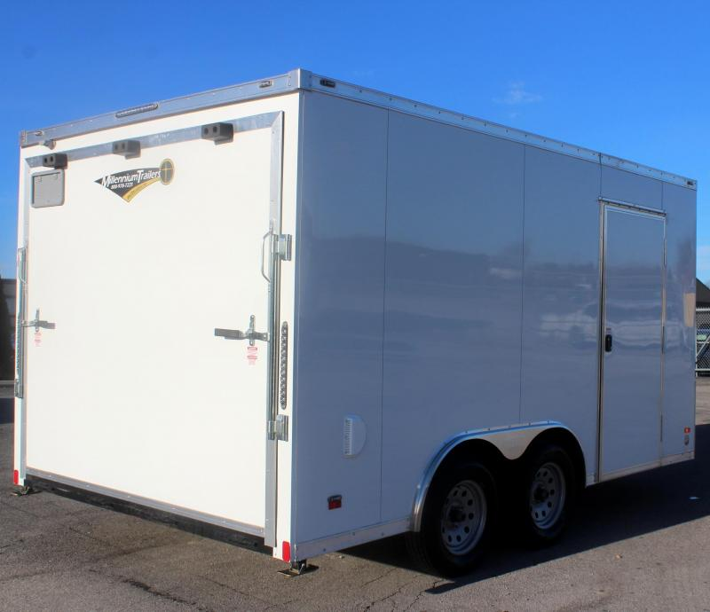 <b>PRE-OWNED/ LIKE NEW</b> 2018 8.5' x 14' Star Cargo Trailer w/Heavy Duty Ramp Door Free Upgrades