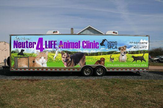 Custom Spay/Neuter Clinic Enclosed Trailer in Ashburn, VA