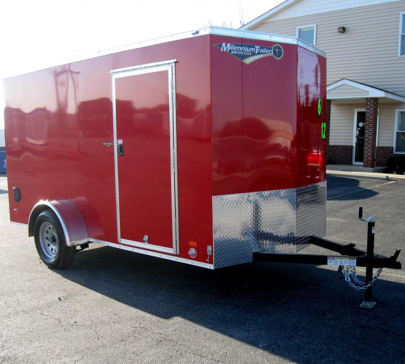 6'x12'  Scout Cargo Trailer Plus Pkg & Free Upgrades in Ashburn, VA