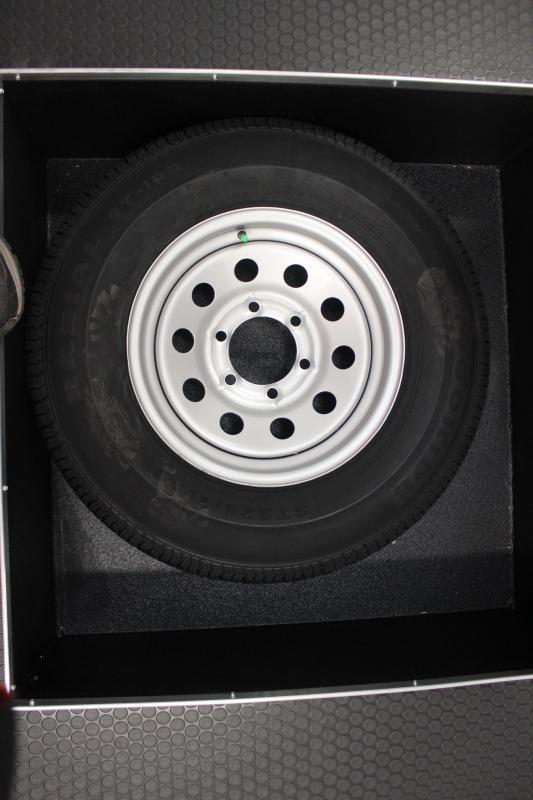 NOW READY 2019 24' Millennium Thunderbolt Enclosed Race Car Trailer Black Cabinets/Alum Wheels/Spread Axles