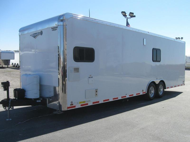 2018 28 39 millennium auto master toy hauler red cabinets trailers for sale near me. Black Bedroom Furniture Sets. Home Design Ideas
