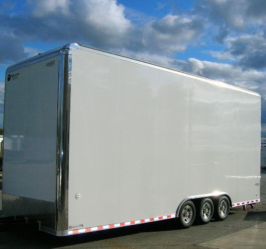 Millennium Trailers 26' Custom Icon Stacker Enclosed Race Car Trailer in Ashburn, VA