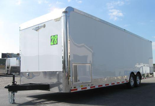 2019 28' Millennium Trailers Auto Master Enclosed Trailer in Ashburn, VA