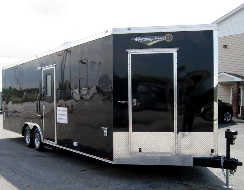 2018 26' Millennium Auto Master Enclosed Trailer Toy Hauler w/Living Quarters in Ashburn, VA