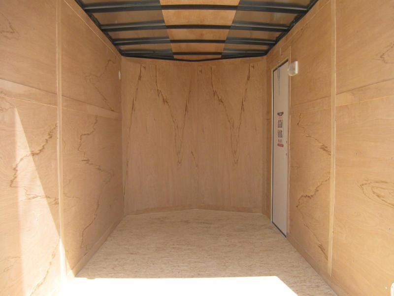 "6'x12' Hero Economy Cargo Trailer with Ramp Door 6"" Extra High"