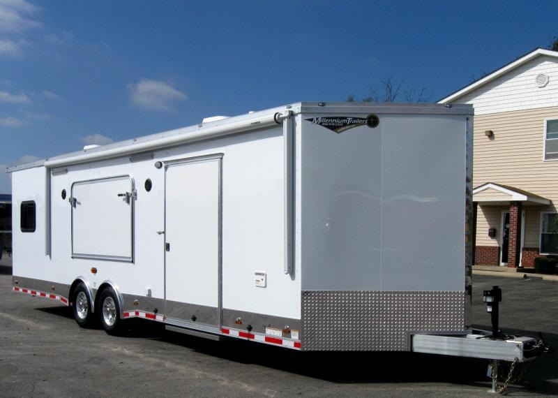 28' Millennium Custom Toy Hauler/Living Quarter CALL FOR DETAILS & ORDERING