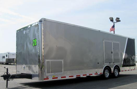 "2-Tone 28' Millennium Auto Master Race/Car Trailer 6K Axles/ 12"" Extra High  in Ashburn, VA"
