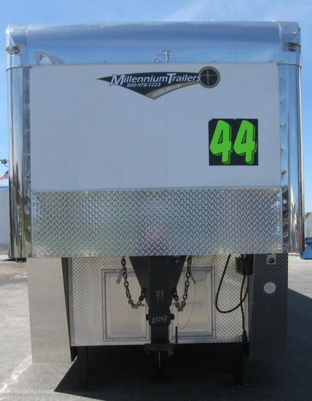 <b>Dragster Pkg. Now Available</b> 2020 Loaded 44' Millennium Auto Master Enclosed Gooseneck Race Trailer
