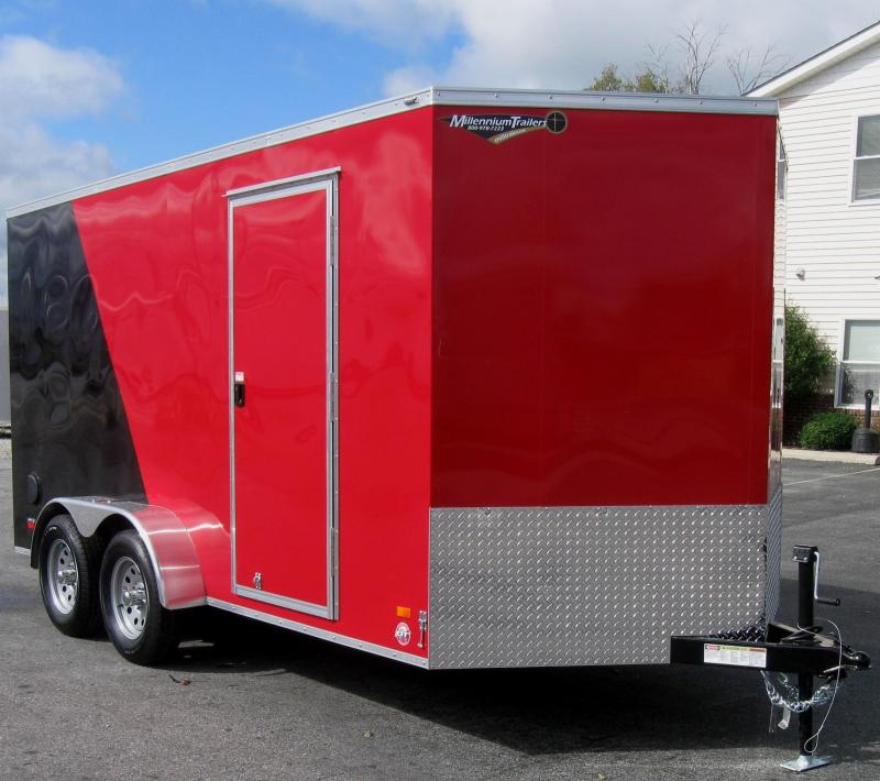 2017 7'x14'  Scout Cargo Trailer 2-Tone with Plus Pkg. in Ashburn, VA