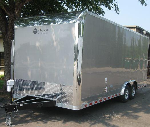 Custom 22' Diamond Enclosed Trailer
